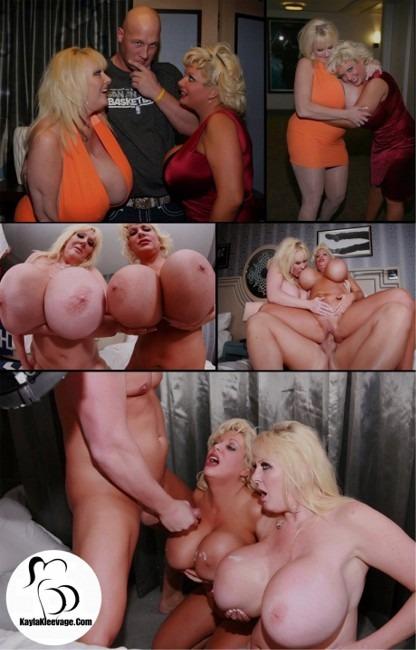 Kayla Kleevage Claudia Marie ChristianXXX ffm 3some
