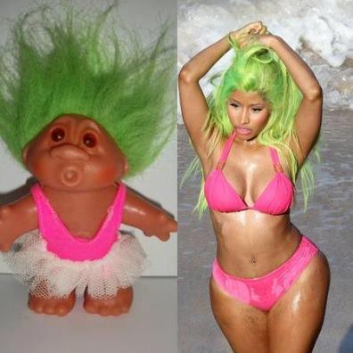 Nicki Minaj inspiration