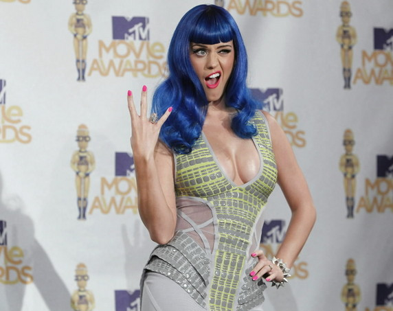 Katy Perry-shocker