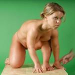 Helena Renata Blonde Midget Porn 02
