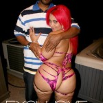 Pinky the Porn Star  buxom physique Rahiem-Shabazz-Pinky