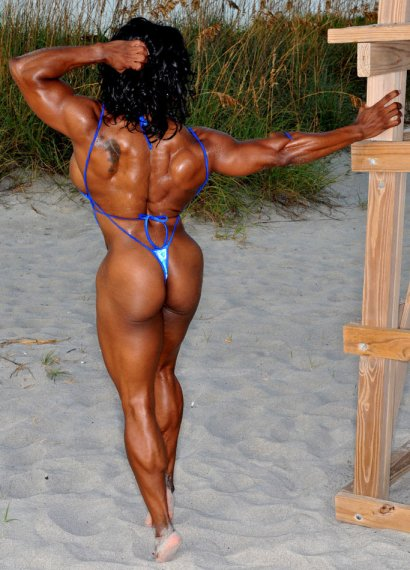 Bova yvette female bodybuilder porn