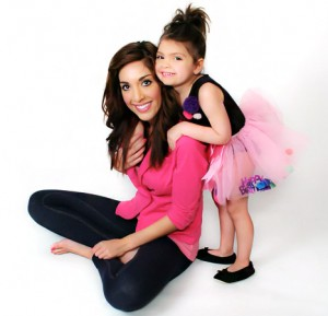 Farrah Abraham and her daughter Sophia