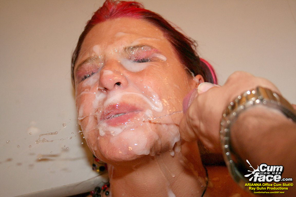 COHF Arianna Cum On Her Face  04