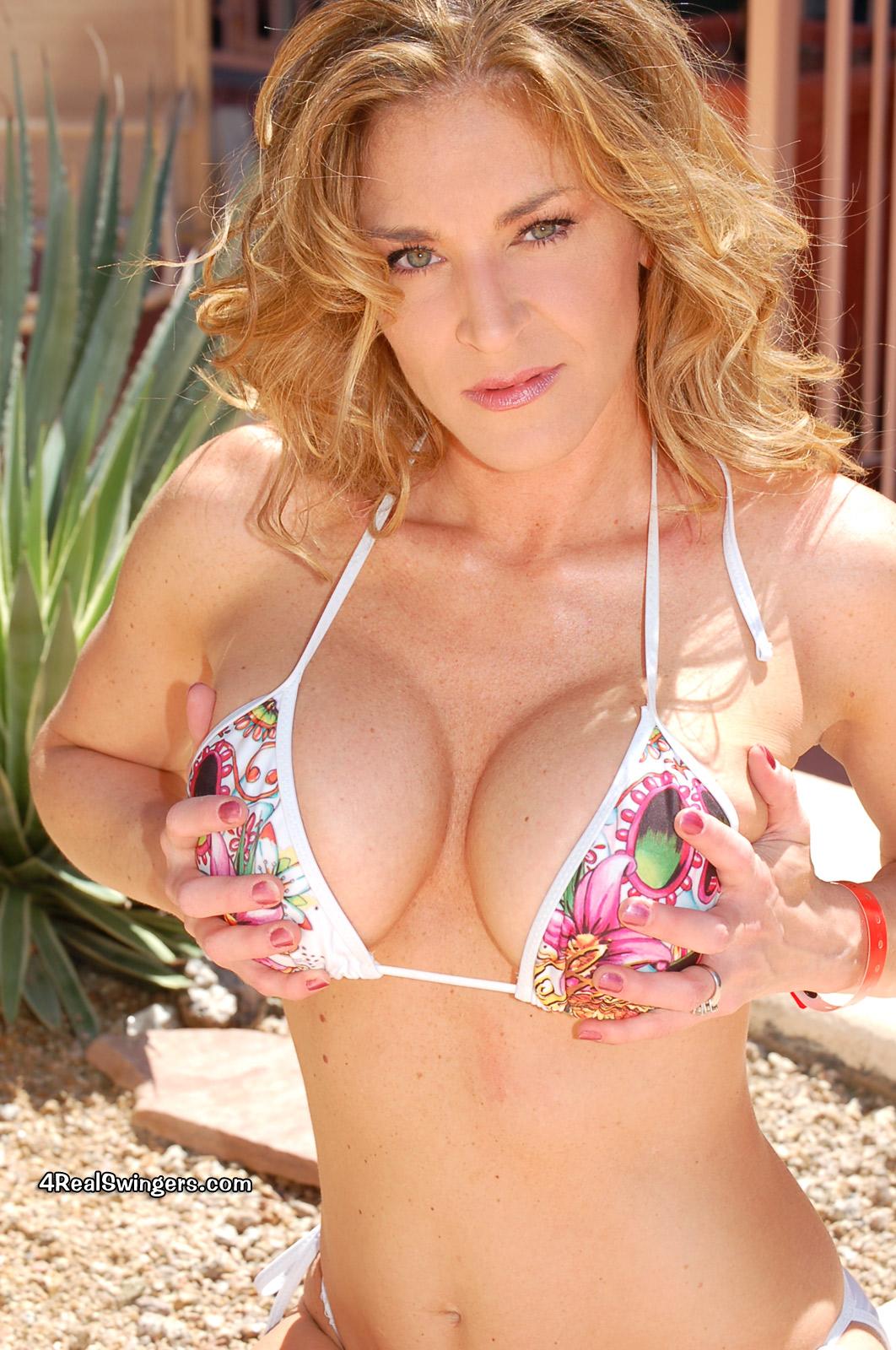 Anna Miller 4 Real Swingers grabbing tits