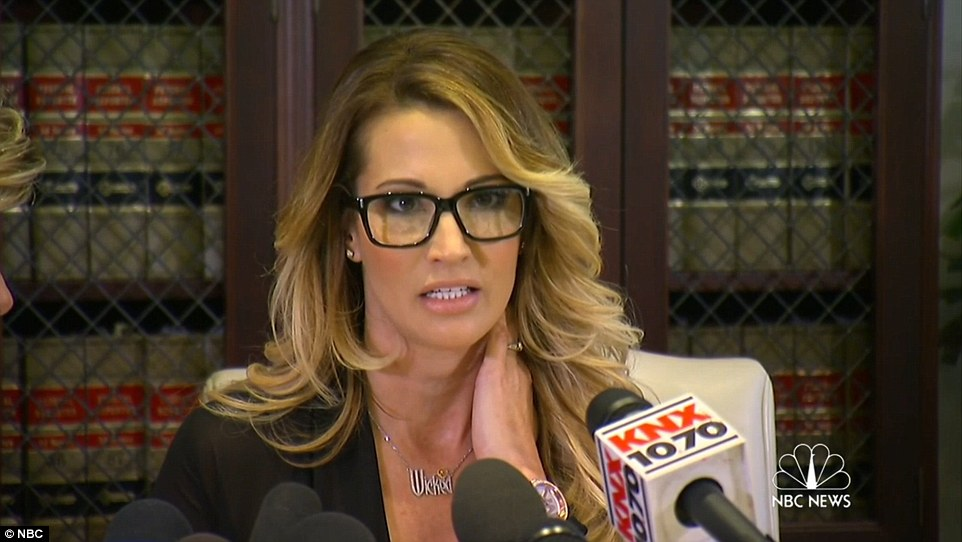 Jessica Drake accusing Donald Trump of offering her Money for sex