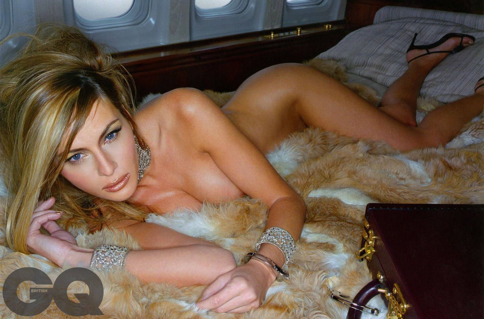 Melania Trump naked First Lady